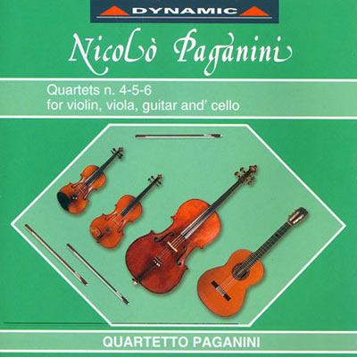帕格尼尼 - 吉他四重奏4 CD