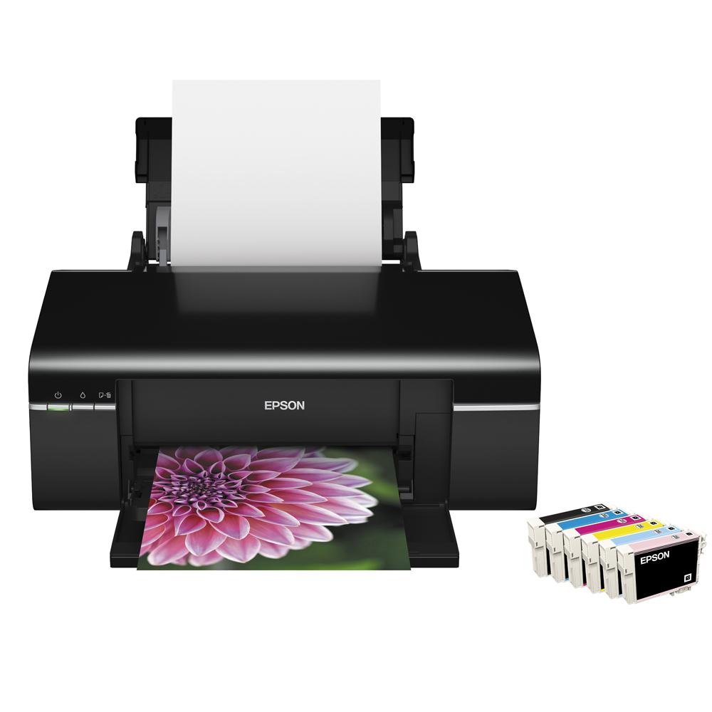 Epson Stylus Photo T50 六色CD印表機