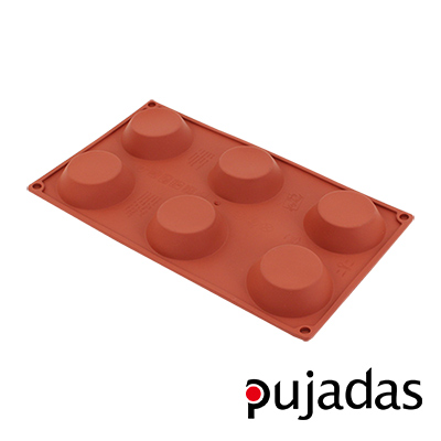 西班牙pujadas矽膠6格點心膜(塔型)