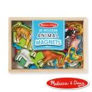 美國瑪莉莎 Melissa & Doug 動物木質磁鐵貼