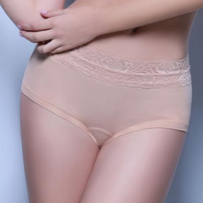 超低腰無痕平口褲-膚色 (M~XL)