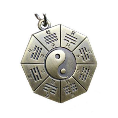 【PUSH】創意鑰匙圈 萬物化生仿古八卦太極