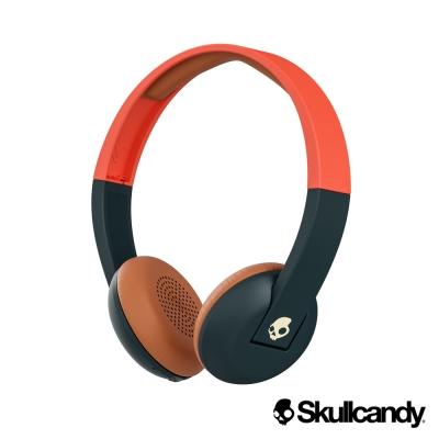 美國Skullcandy 潮牌Uproar阿波羅 藍牙小耳罩式耳機-橘海軍藍色(公司貨)