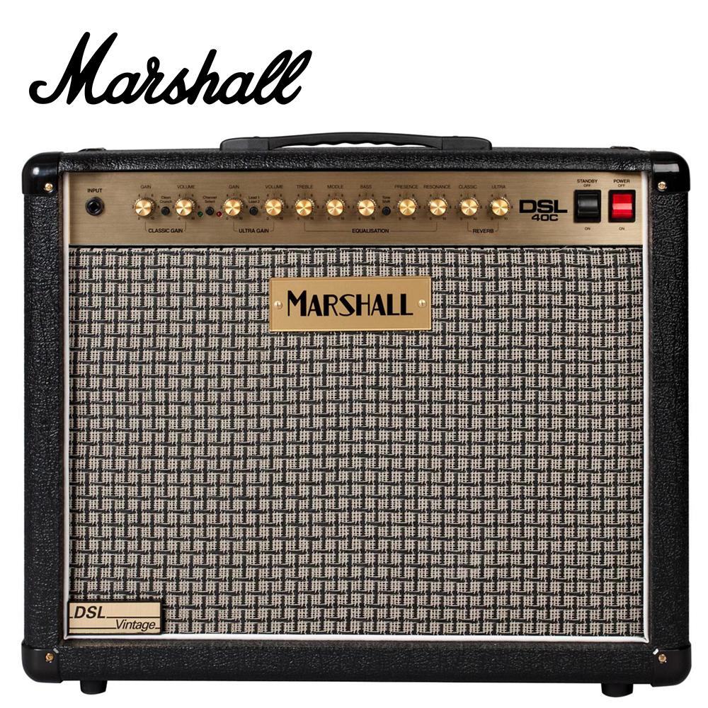 MARSHALL DSL40C CV 全真空管系列音箱 復古灰