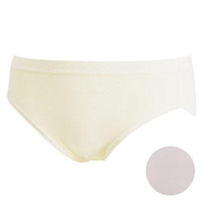 華歌爾-新伴蒂內褲M-LL中腰高裾三角款-淺粉紅