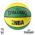 SPALDING NBA NO.1 迷你小球 黃綠 2顆裝籃球 SPA66994