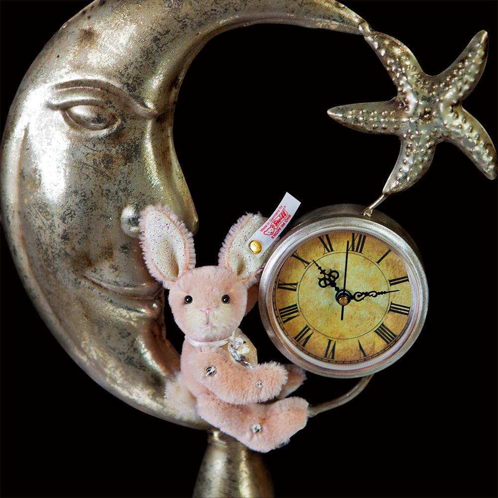 【STEIFF限量版泰迪熊】Swarovski Rabbit Keyring