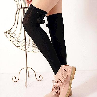 Aimee Toff 可愛系蝴蝶結櫻桃球球膝上襪