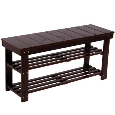 日式實木穿鞋椅(寬90公分)