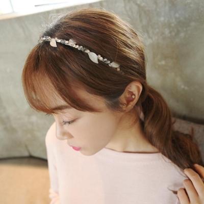 梨花HaNA-韓國夢幻森林葉的國度串珠髮箍