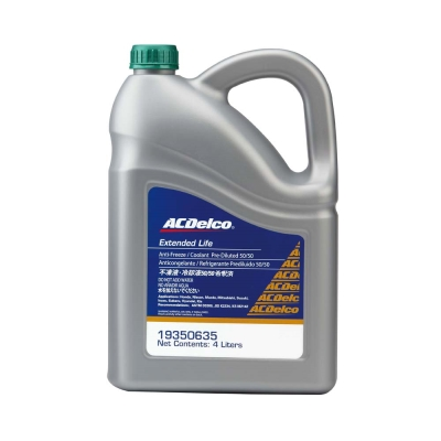 ACDelco水箱精50% 綠色 4L