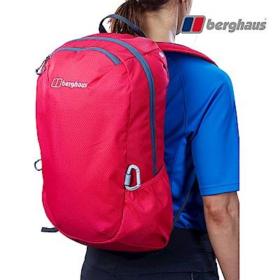 【Berghaus貝豪斯】透氣多功能20L背包T28X89-桃