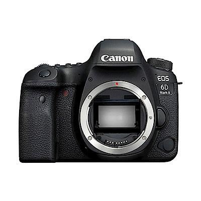 【RODE128G豪華組】Canon EOS 6D Mark II單機身(公司貨)