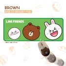LINE 熊大有線滑鼠+大鼠墊(LN-04)