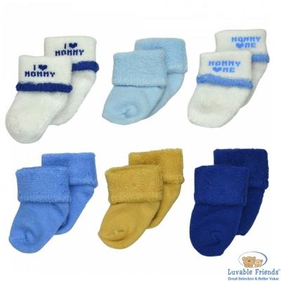 Luvable-Friends-藍色我愛媽咪款嬰兒