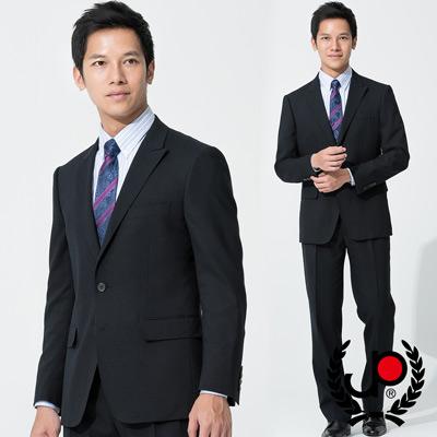 【極品西服】-正式品味仿毛修身西裝外套_深藍(AS537-3G)