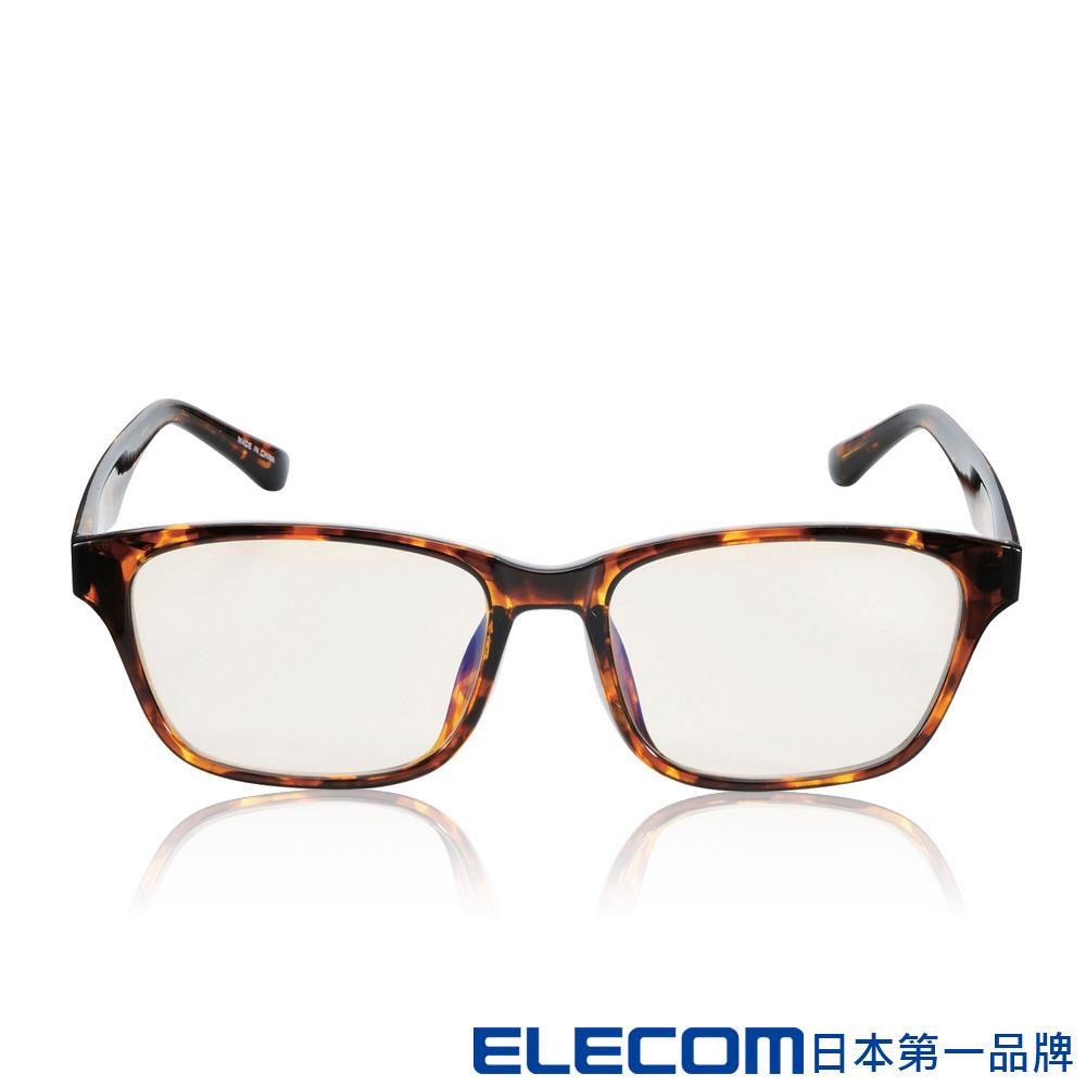 ELECOM 抗藍光眼鏡 OG-ABLC08 -經典復古(琥珀)