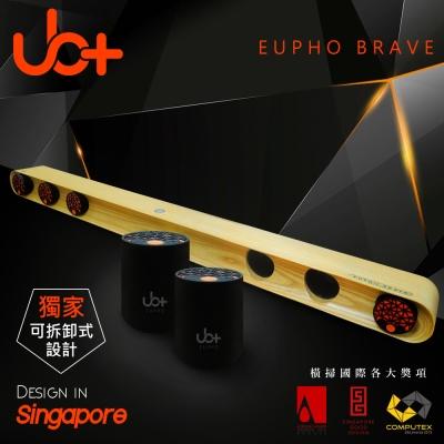 新加坡UB+ 原木模組化立體音藍牙劇院EUPHO BRAVE