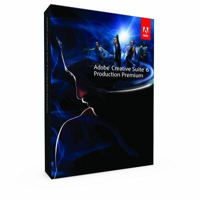 Adobe CS6 Production Premium英文版盒裝Win