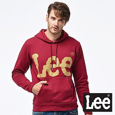 Lee  LEE 大 LOGO帽Tee-男款-紅