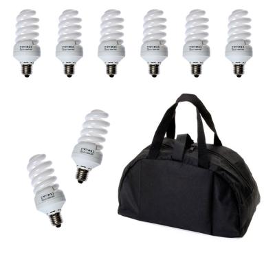 30W標準色溫攝影專用省電燈炮提袋組-8入