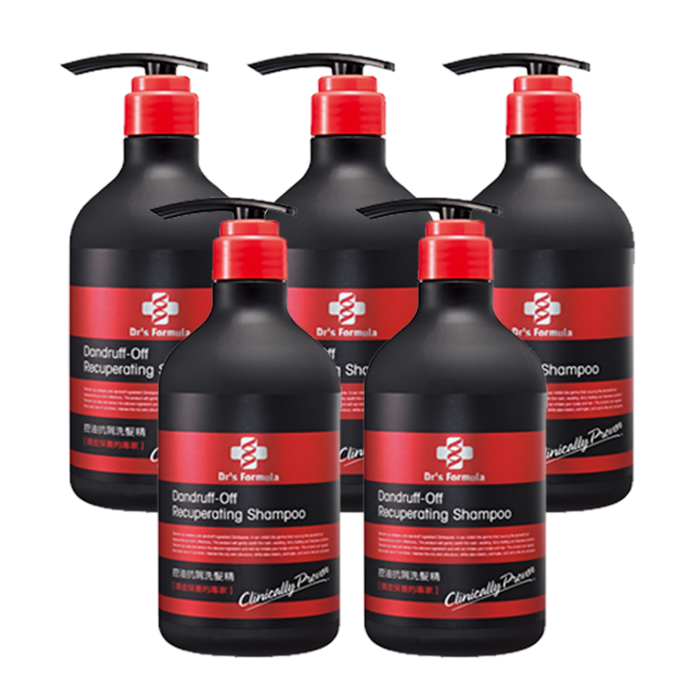 台塑生醫 Dr's Formula控油抗屑洗髮精(580g*5入)