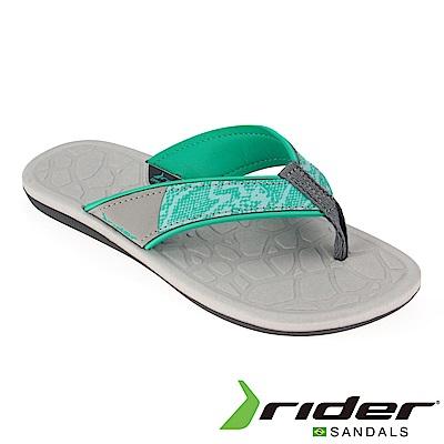 Rider 巴西 女 CLOUD IV 流行夾腳鞋(灰水綠)
