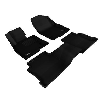 3D 神爪卡固立體踏墊 Mazda 6 2013~2016+ 後座有安全帶護蓋