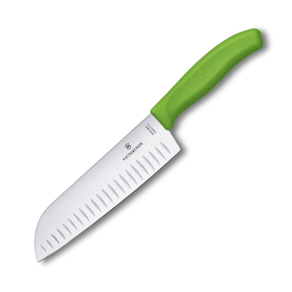 VICTORINOX瑞士維氏 日式主廚刀-綠