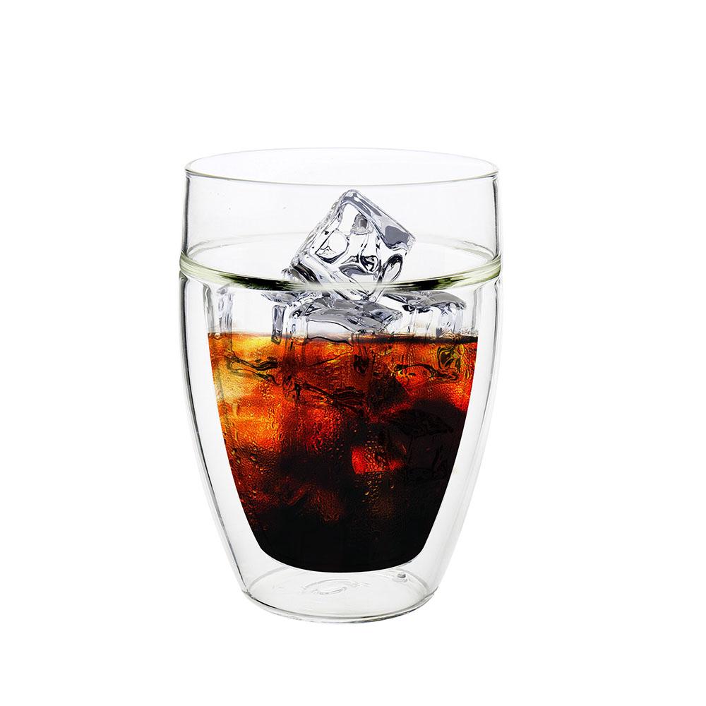 FUSHIMA富島 公爵系列雙層耐熱玻璃杯300ML