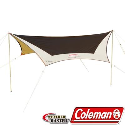 Coleman CM-1575 氣候達人六角型天幕帳/露營帳篷/網屋/客廳帳/炊事遮陽帳