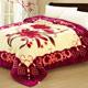 AmoreCasa-幸福百合-拉舍爾細絨保暖毛毯
