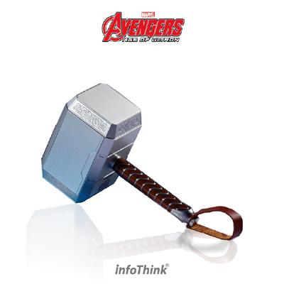 InfoThink 復仇者聯盟2索爾雷神之鎚行動電源 10400mAh