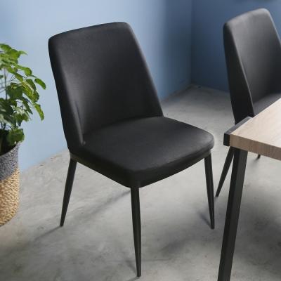 H&D 布萊迪工業風餐椅_48*60*85cm