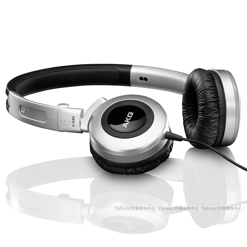 AKG K430 On-Ear Headphone 封閉式 摺疊耳機 黑色版
