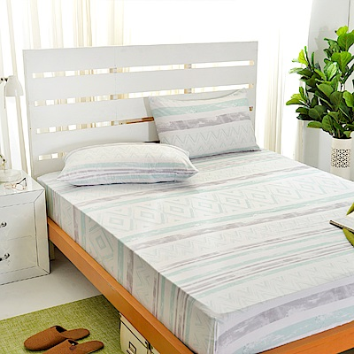 Saint Rose 賽洛斯 加大吸濕排汗天絲枕套床包三件組