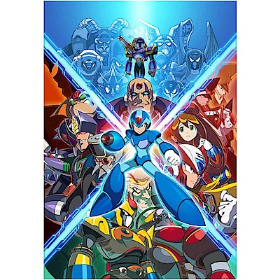 (預購)Megaman X 週年紀念合集 1- PS4 亞版英日文版