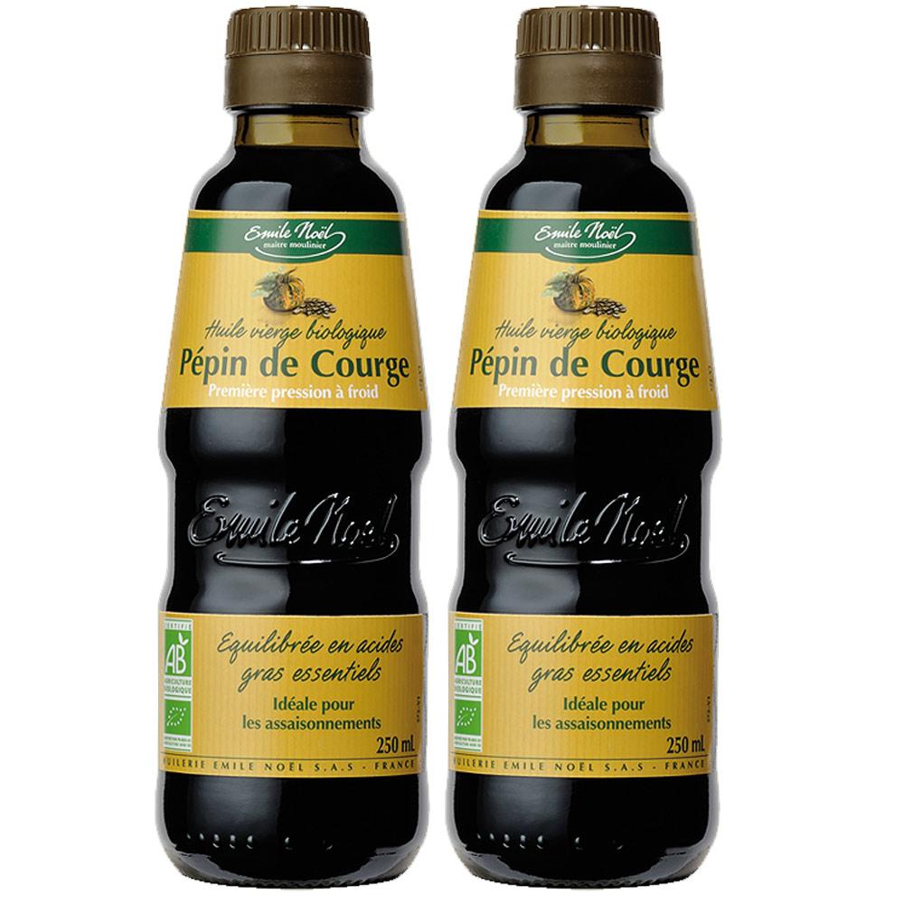 艾米爾諾耶100%有機冷壓初榨南瓜籽油250ml(2入)