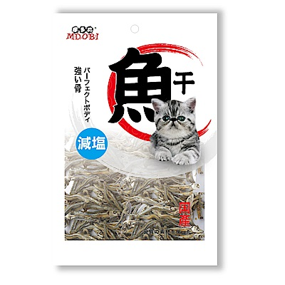 MDOBI摩多比-高鈣減鹽小魚乾80g-3包組