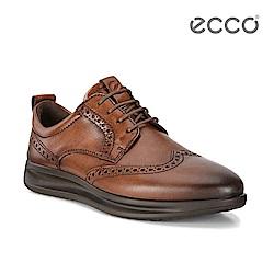 ECCO VITRUS AQUET 漸層刷色休閒紳士鞋-棕