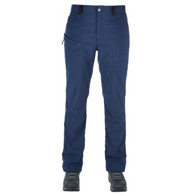 【Berghaus 貝豪斯】女款彈性抗UV合身保暖長褲H31FH1藍