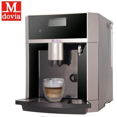 Mdovia-全程自動化打奶泡-開放式功能-義式咖啡機