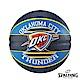 SPALDING 斯伯丁 NBA 隊徽球 雷霆 Thunder 籃球 7號 product thumbnail 1