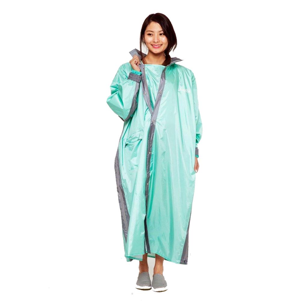 Joahi W027 一件式 雙側開 連身雨衣(土耳其藍/蒂芬妮綠)