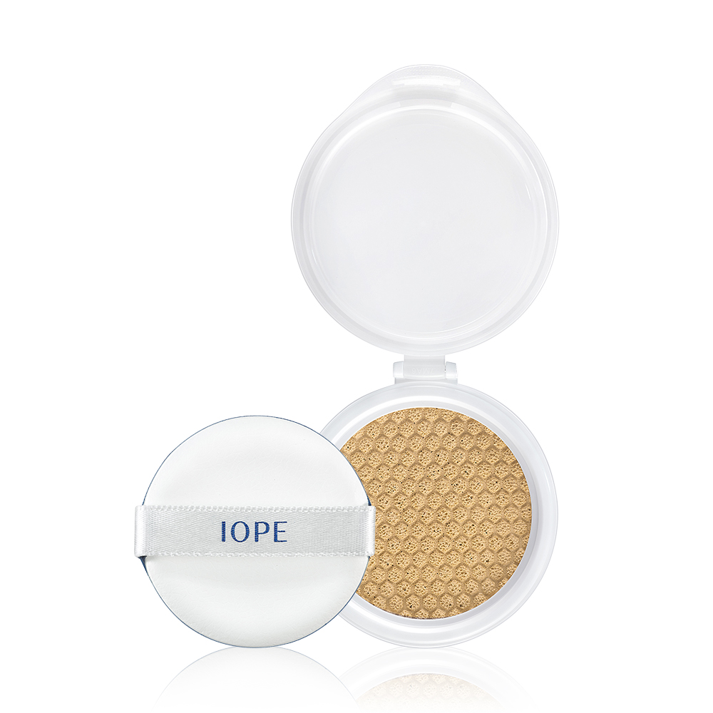 (即期品)IOPE艾諾碧 水潤光透氣墊粉底(粉蕊) 持久水嫩系列