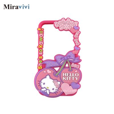 Sanrio三麗鷗iPhone 8/7(4.7吋)鏤空硅膠立體保護套