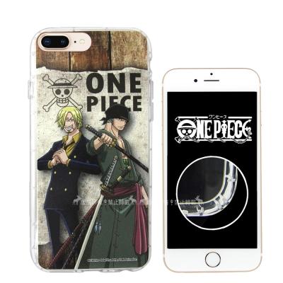 航海王夥伴 iPhone 8 Plus/7 Plus 空壓殼(香吉士&索...