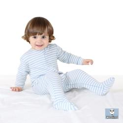 美國 Woolino 頂級羊毛包腳睡衣