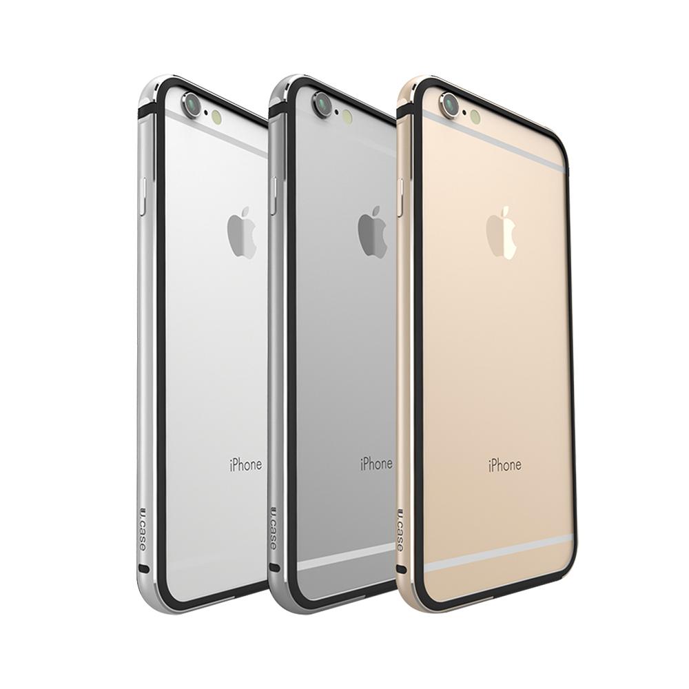 U.case Apple iPhone 6/6S Plus 金屬邊框保護殼