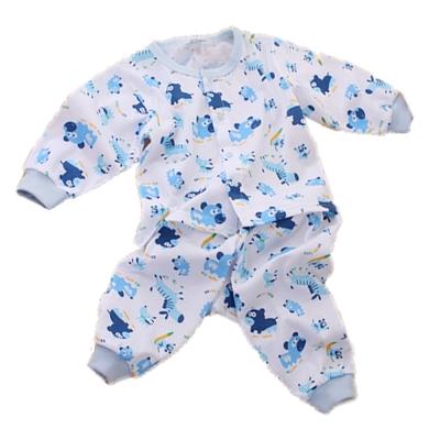 薄長袖居家套裝-童趣熊 k60106